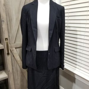 Banana Republic Skirt Suit
